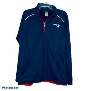 NFL Team Apparel Top Boston Patriots Pullover L